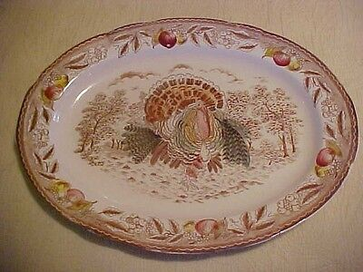 Vintage Trimont Ware JAPAN Lg. Turkey Platter