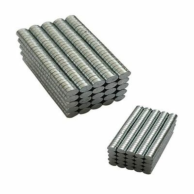100-200pcs N50 3mmx1mm Strong Small Disc Round Rare-Earth Neodymium Magnets Hot