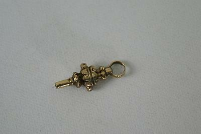 (ref165BH) Early Antique Solid Gold Watch Key
