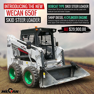 Bobcat Attachment Compatible Skid Steer 650F NEW