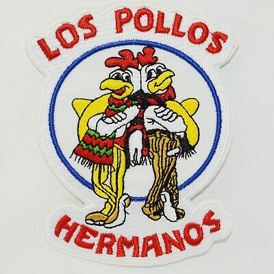 Los Pollos Hermanos Iron On Patch TV Cosplay Logo Costume Breaking Bad Sew