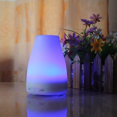 LED Essential Oil Aroma Diffuser Ultrasonic Air Mist Humidifier Purifier Home