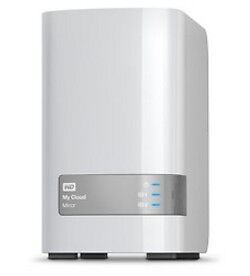 Wd - Ext Hdd Desktop My Cloud Mirror 4Tb 3 5  (Gen2) 2X 2Tb 2X Usb 3.0 Nas Stora
