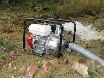 "2"" Honda engine powered water pump SEH50x 50mm high performance japanese pump"