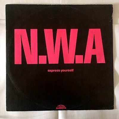 NWA Express yourself 12 inch vinyl  record 1988