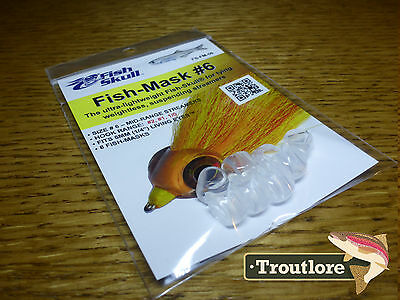 FLYMEN FISH SKULL FISH MASK #6 for HOOK SIZE 2, 1  & 1/0  NEW FLY TYING MATERIAL