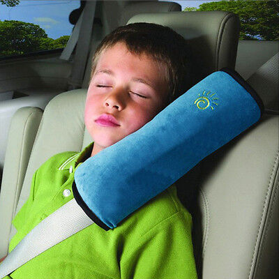 Auto Car Accessories Safety Seat Belt Shoulder Pad Cover Pillow Cushion For Kids