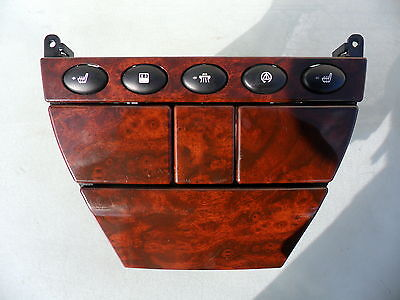 Rover 75 Walnut Cup Holder, Ash Tray , Heated Seat Switches Etc Complete   99-05