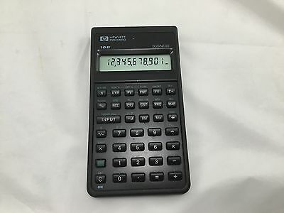 Hewlett Packard HP 10B Business Financial Calculator