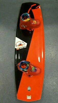 Liquidforce SUPERTRIP WAKEBOARD PACKAGE 136CM. Liquid Force HARLEY BINDINGS