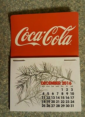 NEW 2017 cocacola  dash calendar
