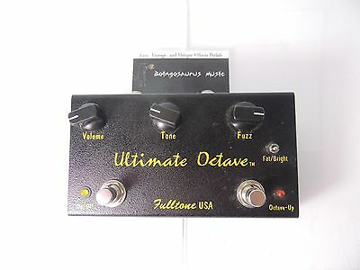 Fulltone Ultimate Octave Fuzz Effects Pedal Killer Tone Free Usa Shipping