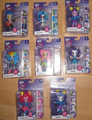 My Little Pony Equestria Girls Character Minis Wave 1- Posable Figures - New