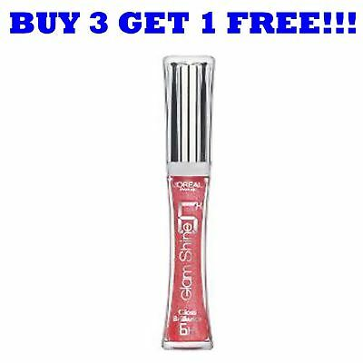 L'Oreal Glam Shine 6 Hour Lip Gloss 114 Tempting Pink