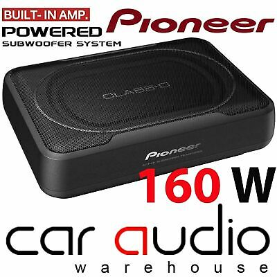 Pioneer TS-WX120A 150 Watts Active Underseat Car Sub Box Subwoofer & Amplifier