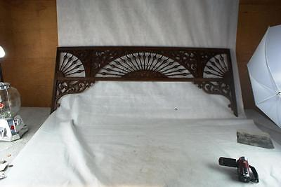 Old Original Antique Fretwork Made Of Oak Excellent Condition No Breaks, Cracks