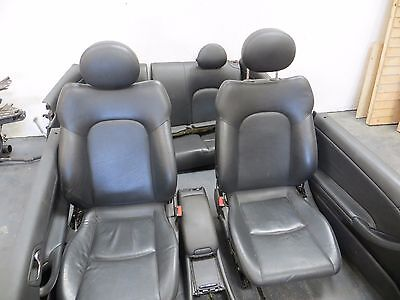 Mercedes C Class Coupe W203 00-08 Leather Interior Seats And Door Cards