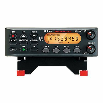 Uniden BC355N 800 MHz 300-Channel, Narrow Band, Base Mobile Police Scanner NEW