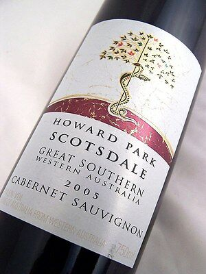 2005 HOWARD PARK Scotsdale Cabernet Sauvignon Isle of Wine