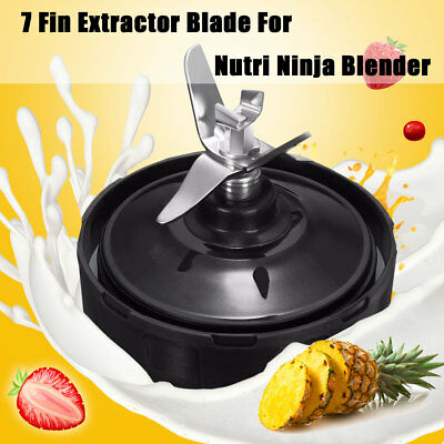 7 Fin Extractor Blade For Nutri Ninja Blender 1000W Kitchen Auto iQ BL480 BL456