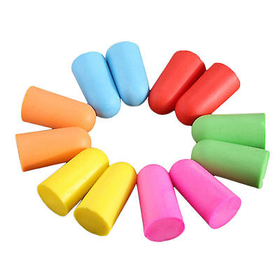 1 Pair Soft Foam Ear Plugs Tapered Sleep Noise Prevention Earplugs Ear Protector