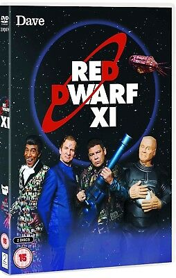 RED DWARF (2016): XI  TV SERIES 11  Sci-Fi, Comedy, Smeg Heads! R2/4 DVD not US