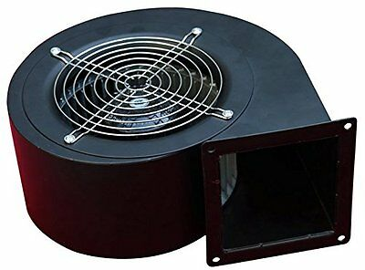 Hakka EM140S-3 Centrifugal Blower,177 Cubic Feet Per Minute,3300 rpm,110V/60Hz
