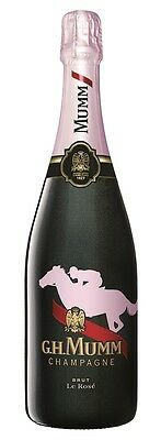 G.H. Mumm `Le Rose` Brut NV Melbourne Cup Edition (6 x 750mL), France.
