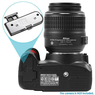 Neewer Camera Replacement Snap-on Battery Door Cover Compatible with Nikon D3100