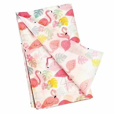 dotcomgiftshop PACK OF 10 FLAMINGO BAY WRAPPING TISSUE PAPER