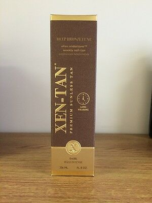 Xen-Tan Deep Bronze Luxe Weekly Self Tan Lotion 236ml medium/dark