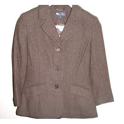 """Dublin Canberra childs brown hacking jacket 28"""""""