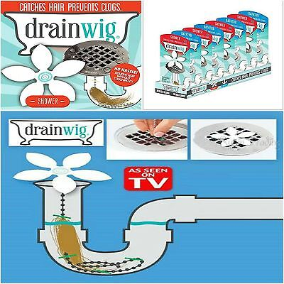 Kitchen Shower Drain Wig Chain Bathroom Cleaner Hair Clog Remover Cleaning Tools