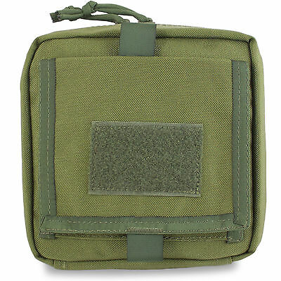 Bulldog MOLLE Military Army CMT Combat Medic Trauma First Aid Kit Pouch Green