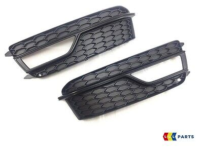 Audi A5 S5 13-15 New Genuine Front S-Line Bumper Fog Light Grill Left+Right Set