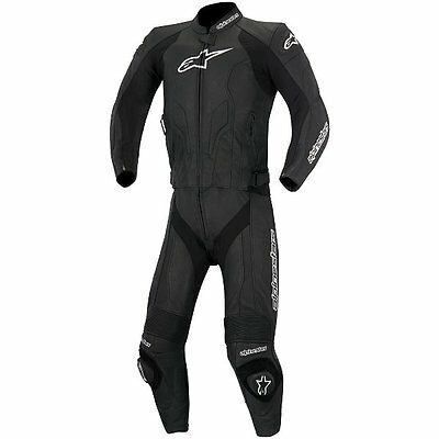 Alpinestars CHALLENGER 2-piece Men's Motorcycle Leather Suits - Black