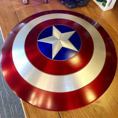 22'' Captain America Shield ABS Color Avengers 2 Ultron ABS 1:1 Cosplay Props