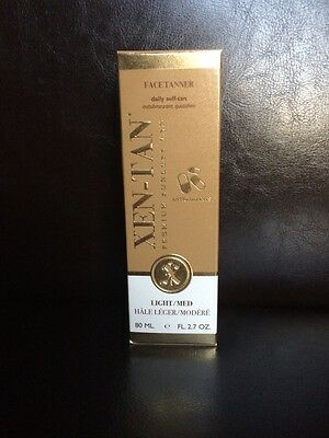 Xen-Tan Oil free face tanner with anti-aging 80 Ml Light/medium