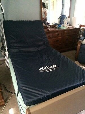 Invacare 5301 IVC Electric Hospital Bed with Upper Body Side Bars (no Mattress)