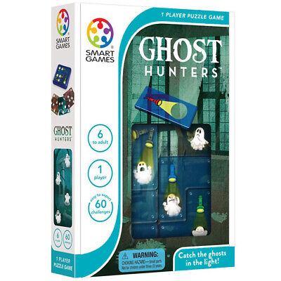 Smart Games Ghost Hunters Puzzle Game - Children's 1 Player Logic Brainteaser