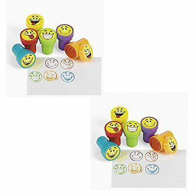 48 pc Goofy Smile Silly Face Stamps [Toy]