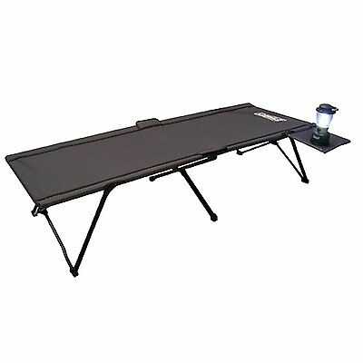 Coleman Pack-Away Cot with Side Table