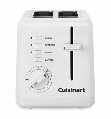Cuisinart CPT-122 2-Slice Compact Plastic Toaster White