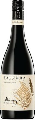Yalumba `Organic` Shiraz 2015 (6 x 750mL), SA.