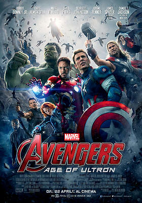 AVENGERS AGE OF ULTRON - poster film 70x100