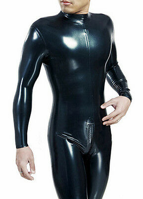 Platex Basic Latex Gummy Rubber Catsuit with Chlorination NEW RRP £250