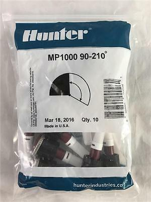 NEW 10 Pack Hunter MP1000 90-210˚ Rotary Nozzle Sprinkler Heads