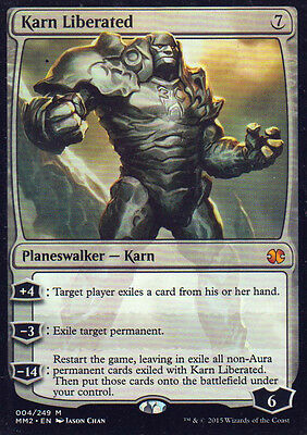 MTG 1x Karn Liberated from Modern Masters 2015 SP -La Place-