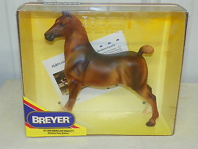 BREYER #1208 Heartland Equality Chestnut Hackney Pony Horse Stallion NIB