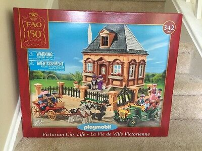 Playmobil Victorian House Model 5955 New in Box FAO SCHWARZ Free Shipping